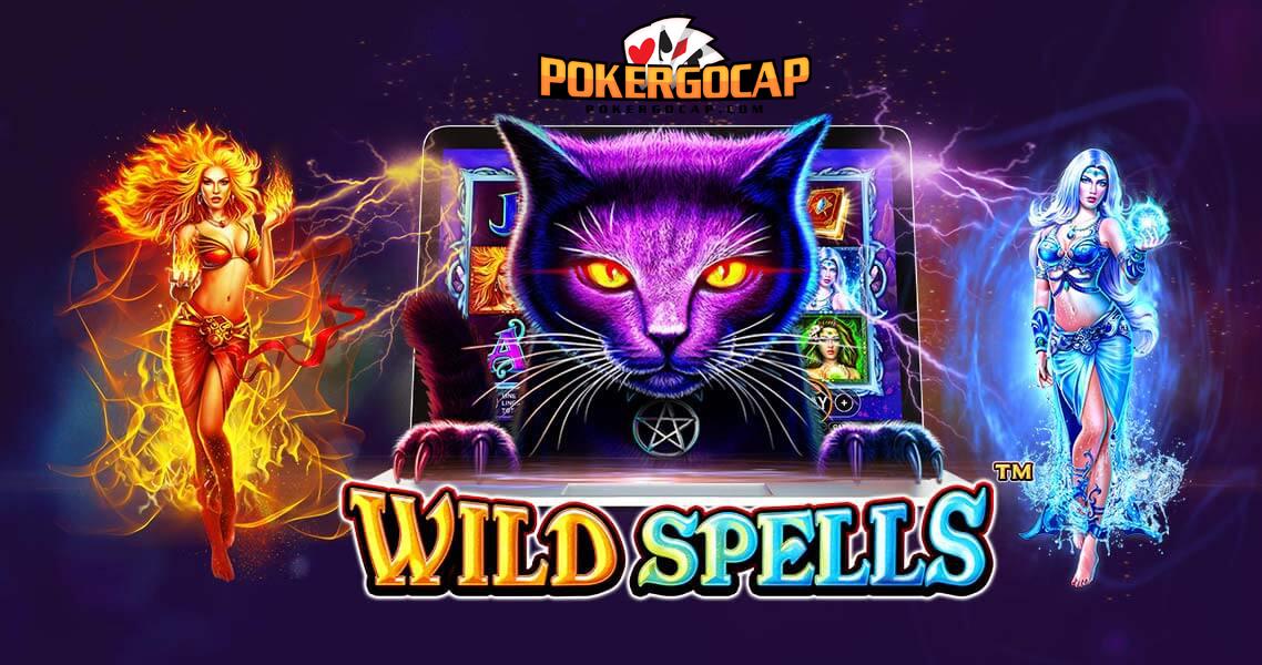 Poker Uang Asli - Baru Wild Spells Slot Video